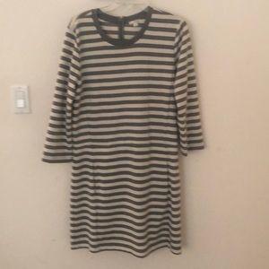 Cute striped Gap dress. Size L/G